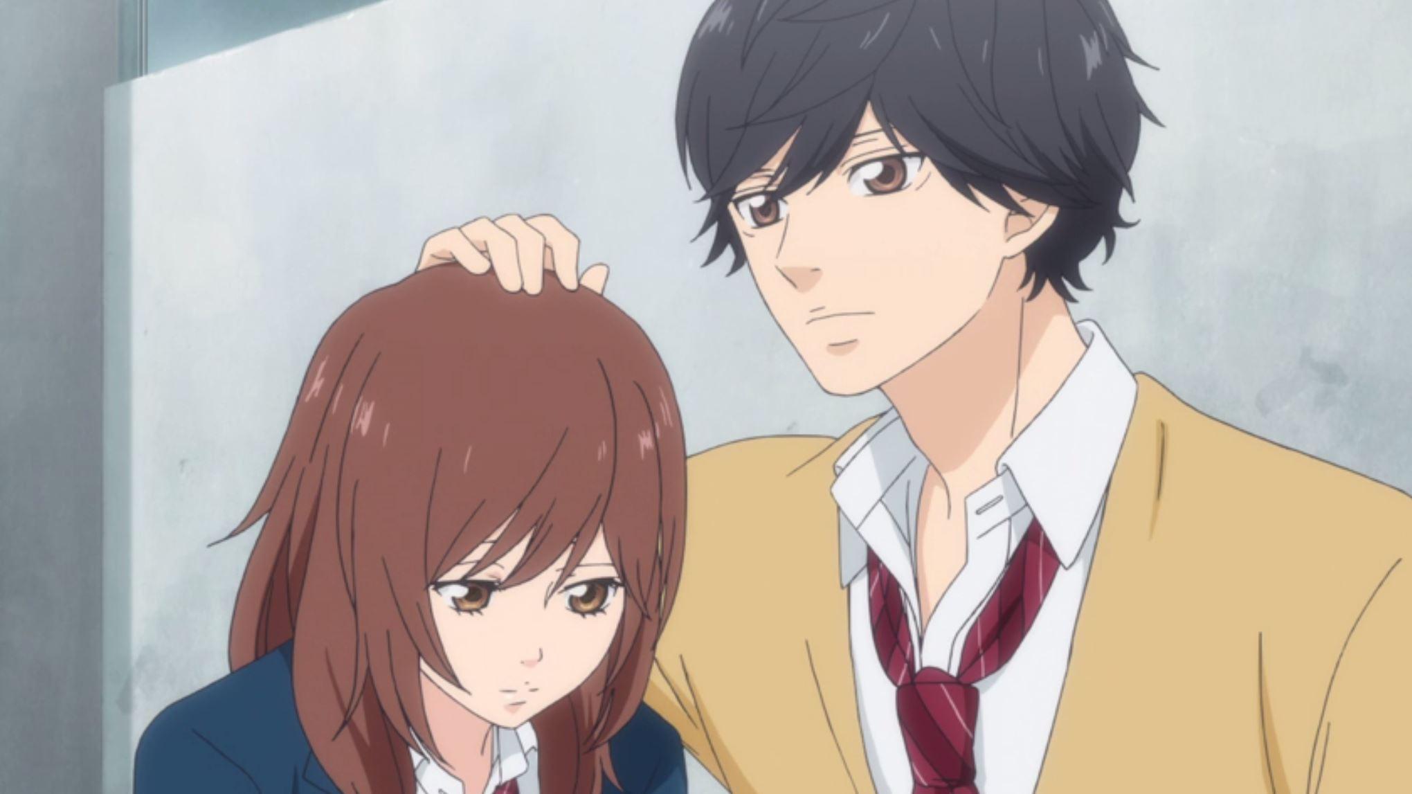 Kết quả hình ảnh cho Ao Haru Ride anime
